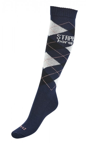 Socken KARO, STAPP® Horse © BUSSE GmbH