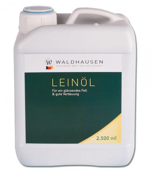 Lein-Öl - Glänzendes Fell und gute Verdauung, 2,5 l © Waldhausen GmbH
