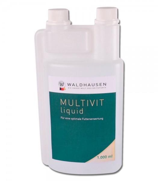 Multi-Vit - Zur Aufwertung der Futterration, 1 l © Waldhausen GmbH