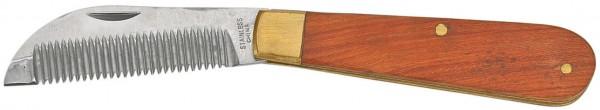 Verziehmesser, klappbar, mit Holzgriff © BUSSE GmbH