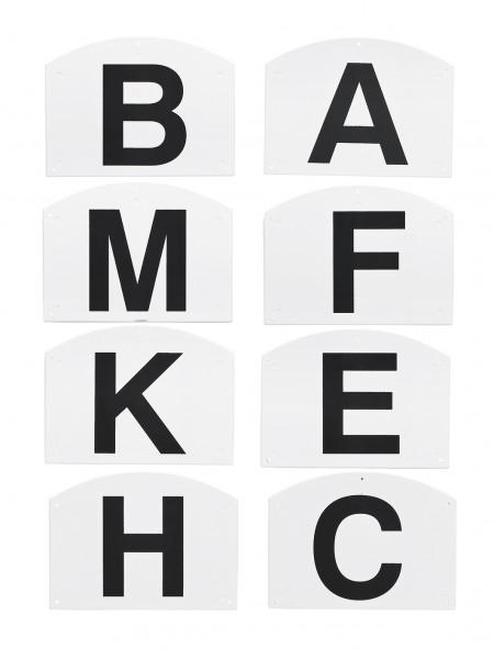 Dressurbuchstaben SCHRAUBBAR © BUSSE GmbH