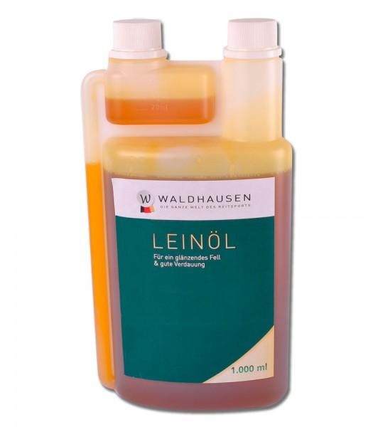 Lein-Öl - Für ein glänzendes Fell und gute Verdauung, 1 l © Waldhausen GmbH