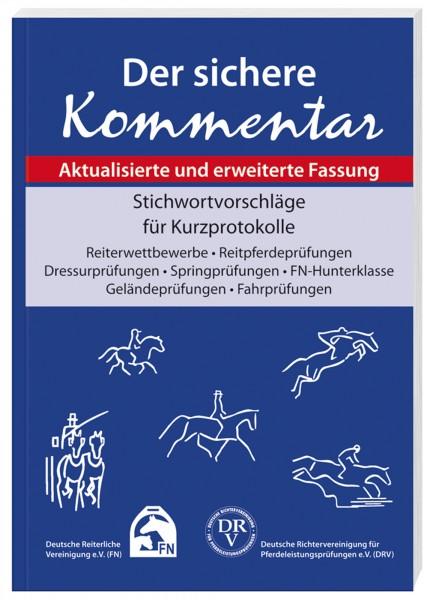 Lehrbuch 'Der sichere Kommentar' © BUSSE GmbH