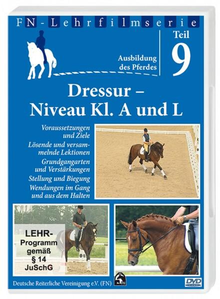 DVD FN-Lehrfilm Teil 9 'Dressur Niveau Kl. A und L' © BUSSE GmbH