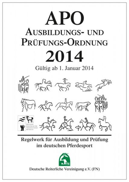 Ausbildungs- und Prüfungs-Ordnung (APO) 2014  - Inhalt © BUSSE GmbH