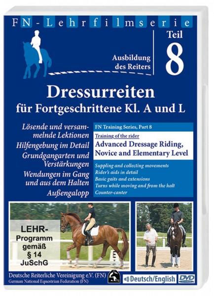 DVD FN-Lehrfilm Teil 8 'Dressurreiten für Fortgeschrittene' © BUSSE GmbH